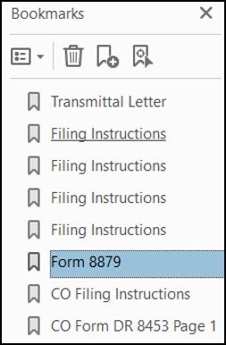form 8879